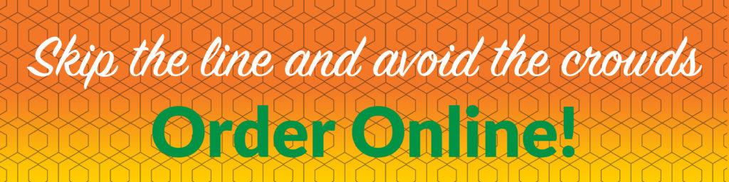 Order Online Banner