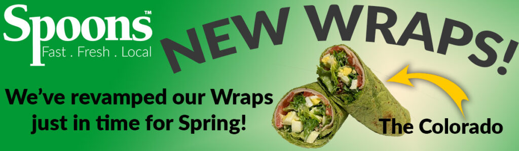 Check out our new wraps!